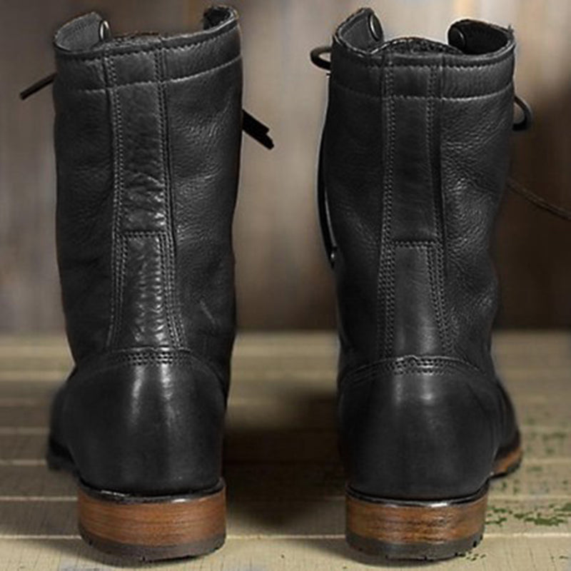 Women Vintage Martin Booties Casual Shoes
