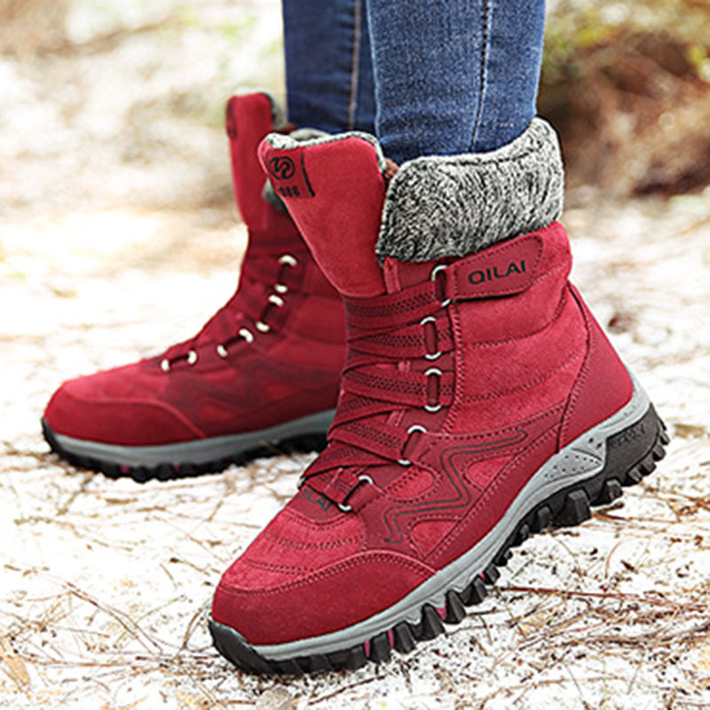 Women Plus Size Snow Booties Casual Shoes
