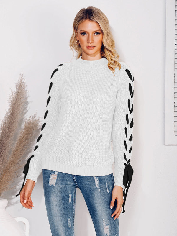 Mostata Women Long Sleeve Casual Sweater
