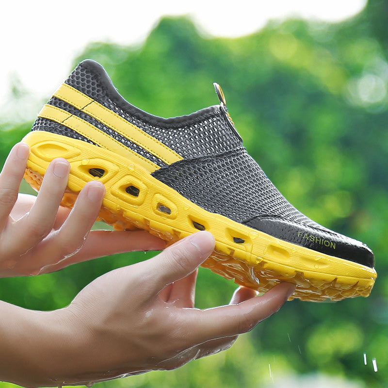 Women Mesh Fabric Sneakers Casual Comfort Breathable Shoes