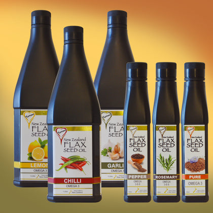 Gourmet Flax Seed Oils