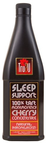 Sleep Support Tart Cherry Juice - 1 litre Concentrate