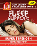 Sleep Support Super Strength Tart Cherry Juice Concentrate - Single Serve Sachets x14