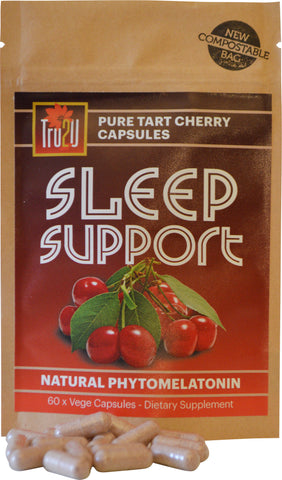 Sleep Support Pure Tart Cherry Skin Capsules - 60 Capsules