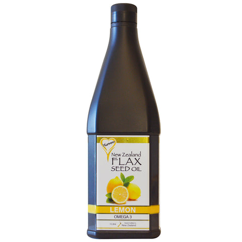 Yumm Flax Seed Oil - 1 litre Lemon