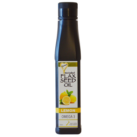 Yumm Flax Seed Oil - 250ml Lemon