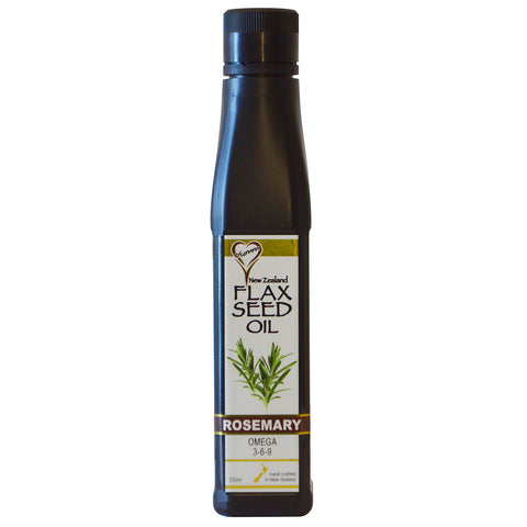 Yumm Flax Seed Oil - 250ml Rosemary