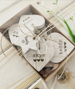 Clay Heart - Personalised