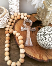 Timber Cross with Beads