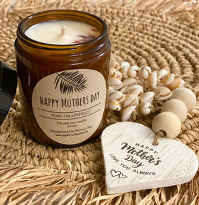 Candle Natural Soy - Happy Mothers Day