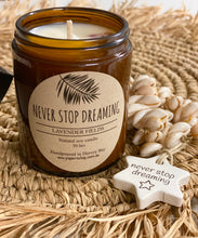Candle Natural Soy - Never Stop Dreaming