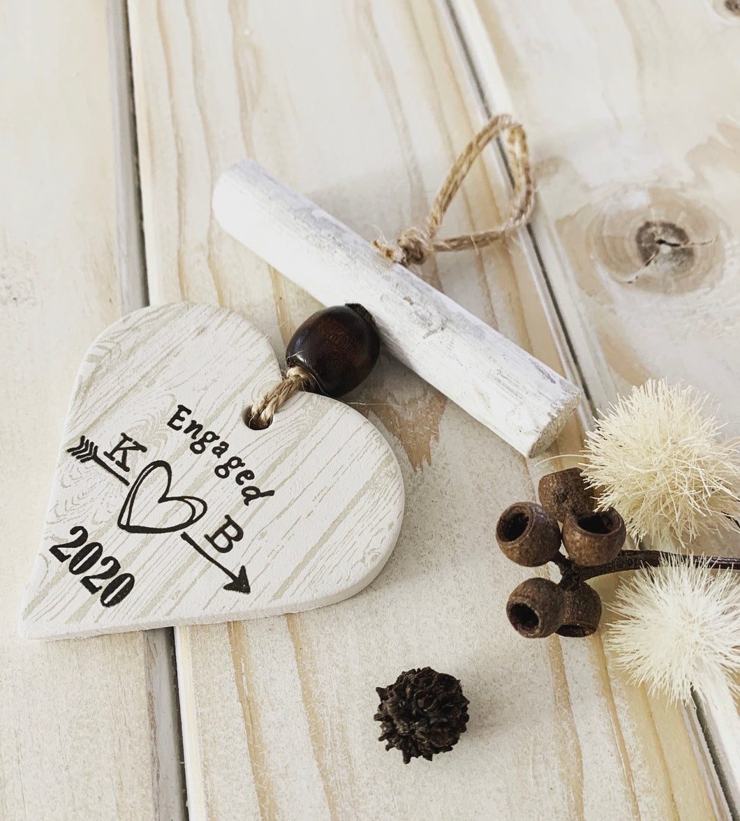 Clay and Driftwood - Personalised Engagement