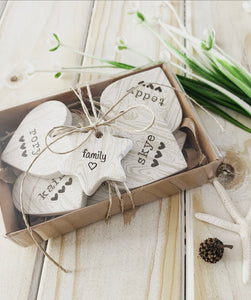 Personalised Clay Heart