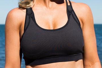 Ultimate Support<br>Black | Nursing Sports & Swim Bras | Kiss Active