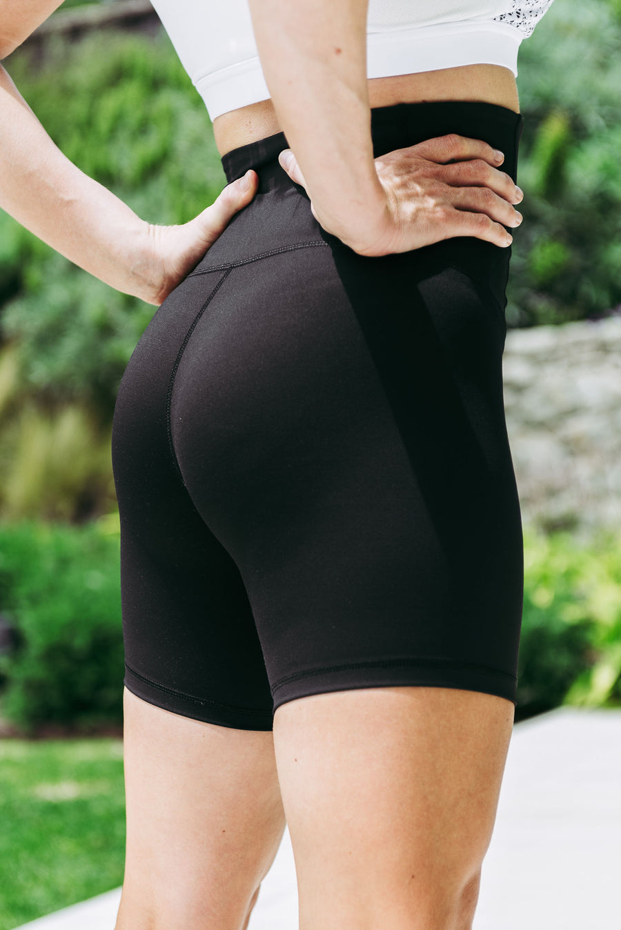 Pregnancy + Postpartum RECOVERY Shorts - Black