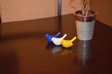 Vibhsa Bird Figurines Symbols of Health & Happiness (Blue, White & Yellow)