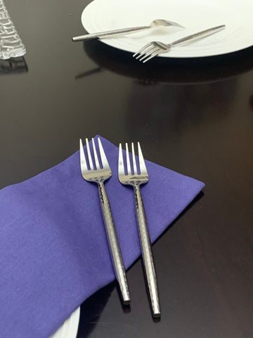 Vibhsa Silverware Flatware Salad Forks Set of 6