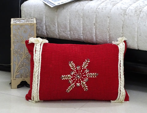 "Chicos Home 14"" x 24"" Christmas Throw Pillow for couch"