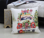 "Chicos Home 20"" x 20"" Christmas Embroidered Throw Pillow"