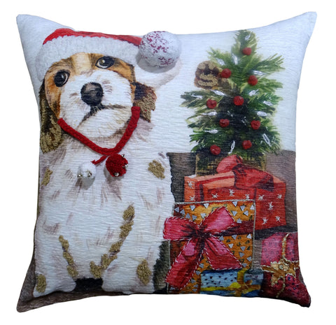 "Chicos Home 20"" x 20"" Christmas Throw Pillow for couch"