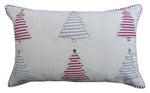 "Chicos Home 14"" x 24"" Christmas Decorative Throw Pillow"