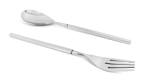 golden silverware flatware set