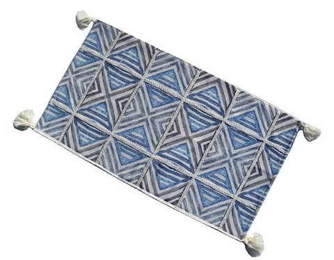 Chicos Home Blue & White Accent Rugs - Vibhsa