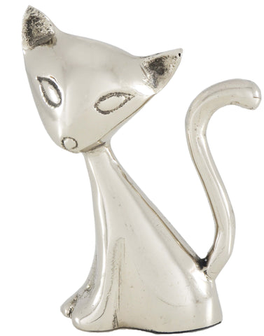 Vibhsa Cat Ring Holder (Silver) - Vibhsa