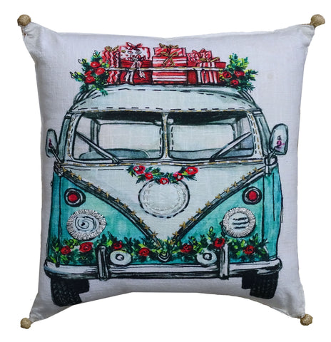 Christmas pillow cover cases for sofa and accents chair