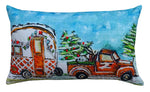 Decorative Throw Pillow Cover Christmas Collection Caravan