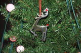 Reindeer Christmas Ornament set of 4