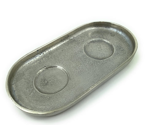 Decorative Silver Serving Tray - Vibhsa