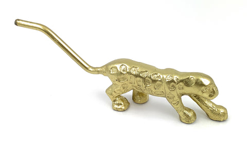 Vibhsa Handcrafted Cheetah Figurine (Golden) - Vibhsa