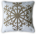 Chicos Home Inis Snowflake Decorative Cushion Cover - Vibhsa