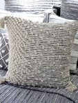 Chicos Home Throw Pillow Cover Beige Woven - Vibhsa