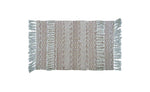 Chicos Homes Accent Rugs Brown And White Stripes - Vibhsa