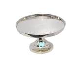 "Cake Stand with Turquoise Butterfly (10"" Cake Holder) - Vibhsa"