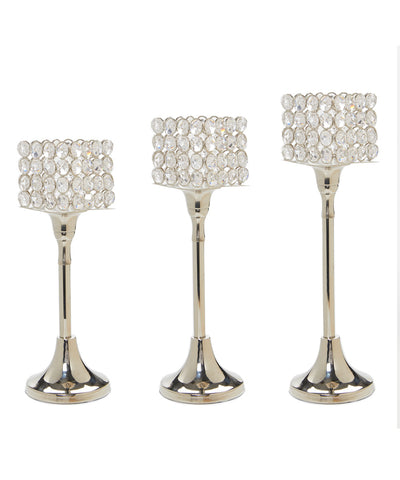 Hurricane Candle Holder Set of 3 - Vibhsa