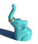 "Elephant Ring Holder (4"", Turquoise)"