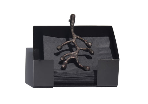 Vibhsa Napkin Holder Dinning Decor and Housewarming Gift (Antique) - Vibhsa