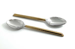 Vibhsa Golden Silverware Tablespoons Set of 6