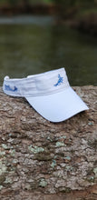 Load image into Gallery viewer, reel pure® Cotton Shell Fly Fishing Visor
