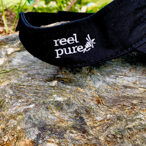 reel pure® Cotton Shell Fly Fishing Visor