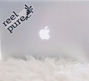 reel pure® All Weather Die-Cut Sticker