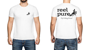 reel pure® Short Sleeved T- Shirt Fly Fishing