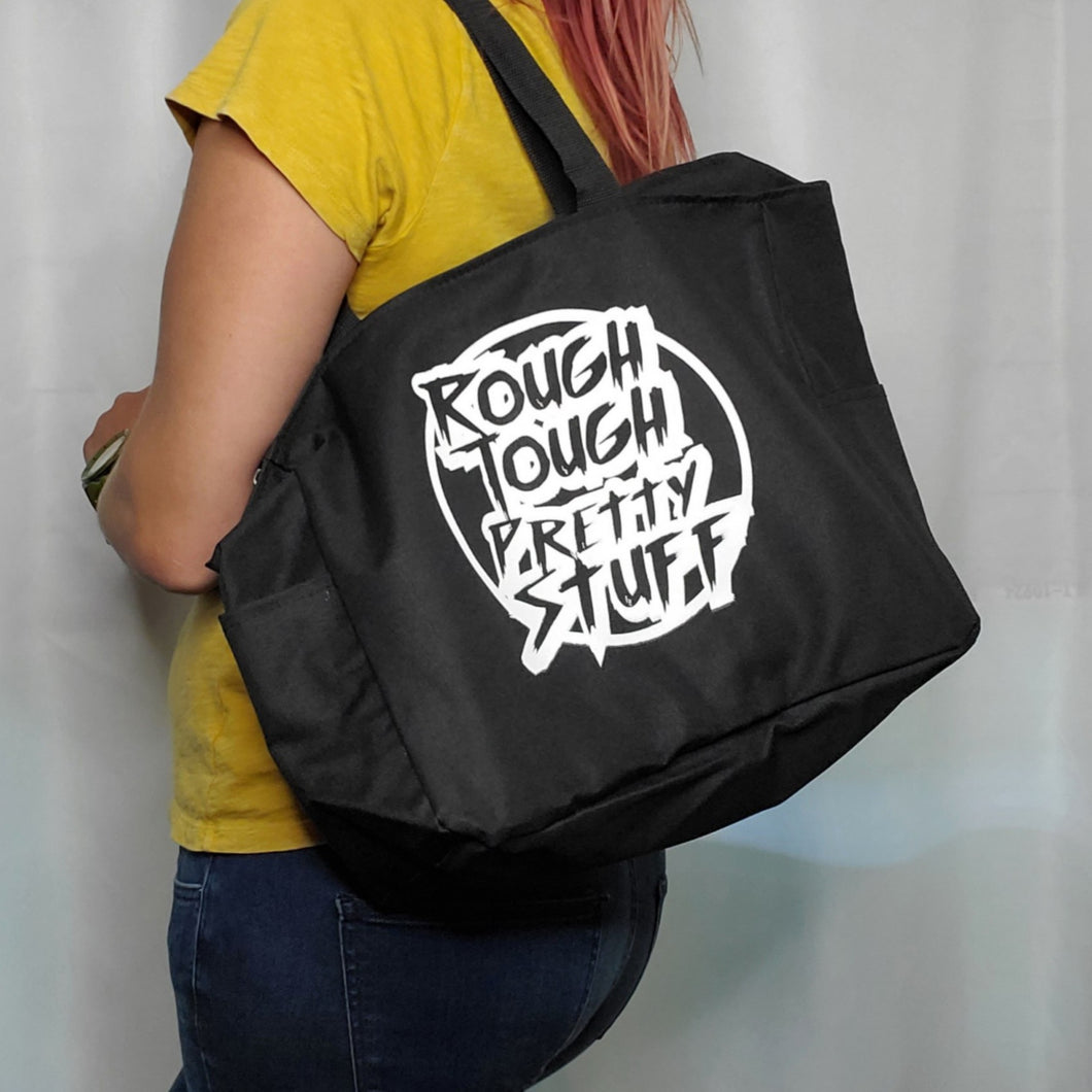 ROUGH TOUGH PRETTY STUFF Tote
