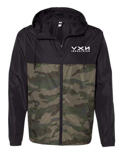 HEX HEAD Windbreaker Jacket PREORDER Black/Camo