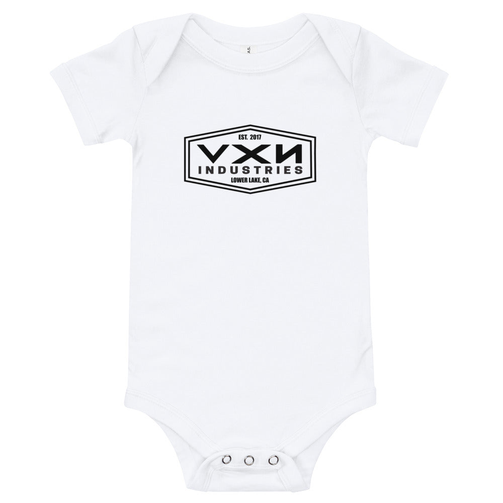 HEX HEAD Onesie - White