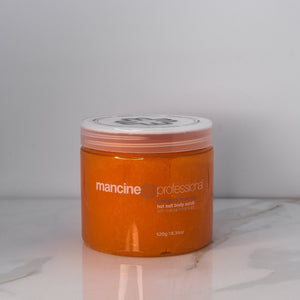 Mango & Rosehip Oil Hot Salt Scrub 18.4 oz