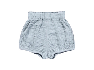 Periwinkle Linen Shorties